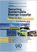 Flyer of the 22th Annual Session of the Committee on Sustainable Energy (21-22 November 2012), Geneva, Palais des Nations