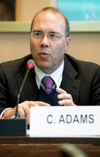 [picture of Clemens Adams]