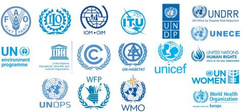 Logos of members of the Issue-based Coalition on Environment and Climate Change
