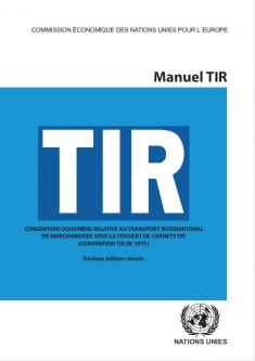 TIR Cover Version 10 in French
